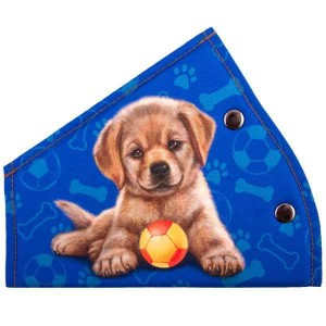 Skyway фиксатор ремня безопасности для детей щенок с мячом синий