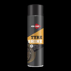 AIM-ONE  Блеск для шин без пены аэрозоль 450мл