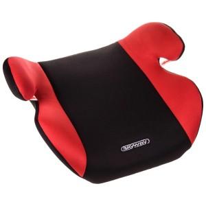 Skyway автокресло бустер подушка Школьник1 22-36 кг 6-12 лет черно-красное