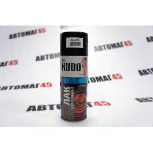 KUDO  лак Черный тонировочный для фонарей аэрозоль 520мл