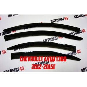 ANVair дефлекторы окон Chevrolet Aveo c 2012г комплект 4шт