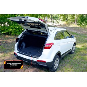 Русская Артель  Накладка на задний бампер Hyundai Creta с 2016г