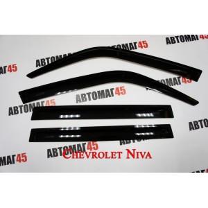 ANVair дефлекторы окон Нива Шевроле Niva с 2002г Landmark ZX комплект 4шт