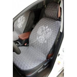 Чехлы  накидки на сиденье серия G лен серый комплект 5шт