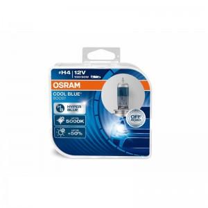 Osram  лампа H4 Cool Blue 12V 100 90W 5000К белый 2шт