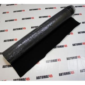 Карпет акустический самоклеющийся 1м х 1,5м черный