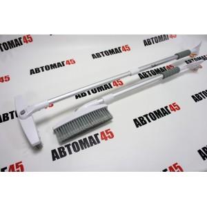 AirLine  щетка для снега со скребком телескопическая большая 86-123см