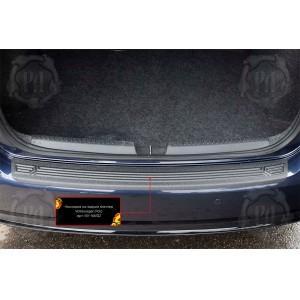 Русская Артель  Накладка на задний бампер Volkswagen Polo 5 2016г-2019г