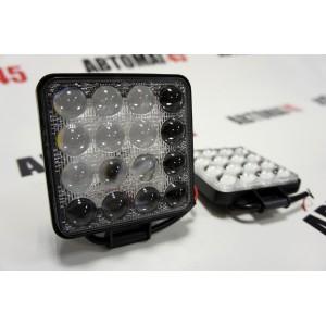 Lightway  светодиодная фара линза Slim дальний свет 16 диодов 48Вт 12В 1шт гарантия 1 месяц