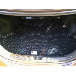 Locker  коврик в багажник пластик Hyundai Solaris седан 2010-2017г