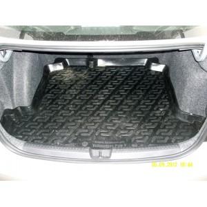 Locker  коврик в багажник пластик Volkswagen Polo седан с 2010г
