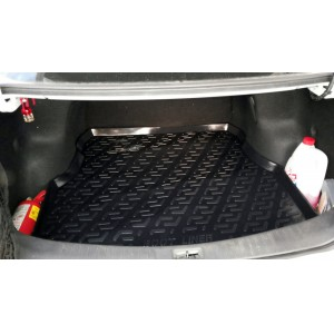 Locker  коврик в багажник пластик Nissan Almera седан с 2013г