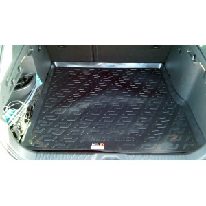 Locker  коврик в багажник пластик Lada Vesta Веста SW Cross