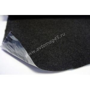 Карпет акустический самоклеющийся 1м х 1,5м темно-серый