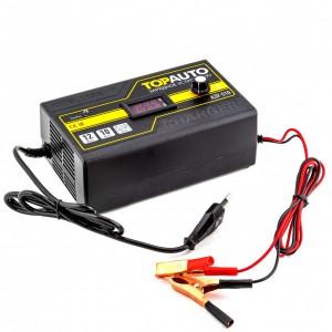 Top Auto  зарядное устройство импульсное АЗУ-510 12В 10A до 140А/ч автомат гарантия 36мес