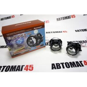 """Aozoom A3+ MAX Eagle eye B-007 светодиодные Би-Led линзы 3.0"""" 12V 35W 5500K 4000Lm гарантия 12 мес"""