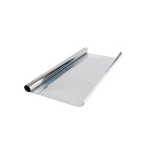 Тонировочная  пленка Китайка зеркальная Silver 0,75м х 3м
