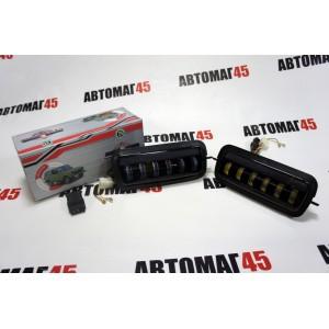 TLT  надфарники Нива 21214 LED + поворотник 4000Lm 6 полос  2шт гарантия 6 мес
