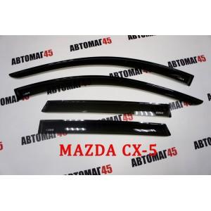 VAD  дефлекторы окон Mazda CX-5 с 2012г комплект 4шт