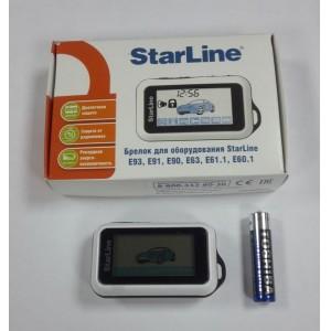 Брелок оригинал StarLine Е60 E61 Е63 E90 E91 E93 Slave с обратной связью гарантия 1 год