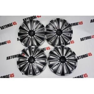 STAR  Колпаки R15 GMK Super Black черный комплект
