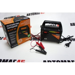 Lavita  зарядное устройство для АКБ 6А 6/12В с защитой от замыкания гарантия 6мес