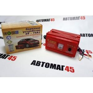 Зарядное  устройство для АКБ ЗУ-75А1 6А 14В трансформатор гарантия 1год