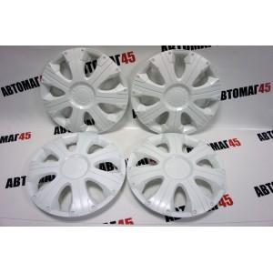 STAR  Рейсинг колпаки R16 белый комплект