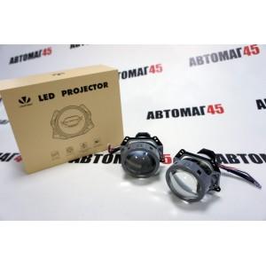 """Lightway A3+ MAX светодиодные Би-Led линзы 3.0"""" 12V 35W 5500K 4000Lm гарантия 12 месяцев"""