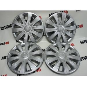 STAR  Колпаки R15 Карат серебро комплект