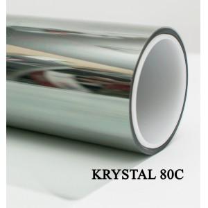 SOLARNEX KRYSTAL 80C  Атермальная тонировочная пленка 80% серо-зеленая 1,5м х 1м