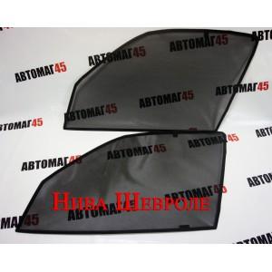 BRENZO каркасные шторки на магнитах Niva Chevrolet передние 2шт стандарт 10%