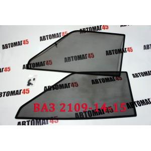 BRENZO каркасные шторки на магнитах ВАЗ 2109-21099 2114 2115 передние 2шт стандарт 10%