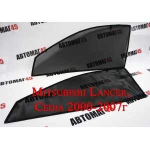BRENZO каркасные шторки на магнитах Mitsubishi Lancer 9 Lancer Cedia 01-13г передн 2шт стандарт 10%