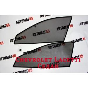 BRENZO каркасные шторки на магнитах Chevrolet Lacetti Седан передние 2шт стандарт 10%