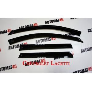 ANVair дефлекторы окон Chevrolet Lacetti хэтчбек 2003-2013г комплект 4шт