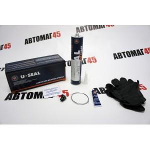 U-SEAL  Набор клей 201 Fast 300мл грунт U-Primer 10мл салфетка струна перчатки