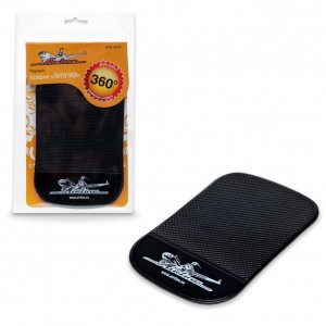 AirLine коврик на панель противоскользящий черный
