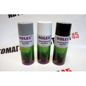HOLEX мастика антигравий белый аэрозоль 520мл