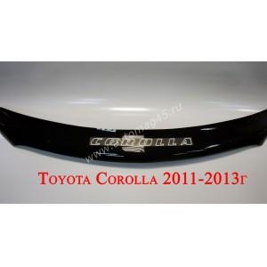 Дефлектор капота Toyota Corolla 2011-2013г