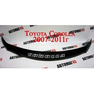 WT52 Дефлектор капота Toyota Corolla 2007-2010г
