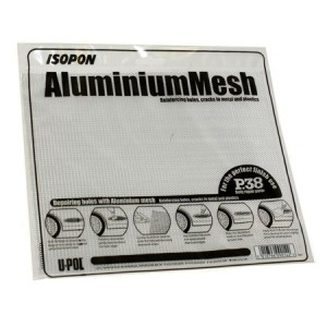 U-pol алюминиевая сетка для ремонта кузовных деталей