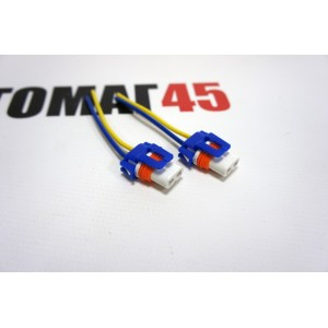Разъем HB3 HB4 пластиковый с проводами Male