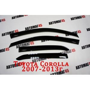 VAD дефлекторы окон Toyota Corolla седан 2007-2013г комплект 4шт