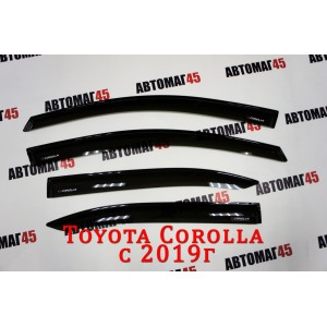 VAD дефлекторы окон Toyota Corolla c 2019г комплект 4шт