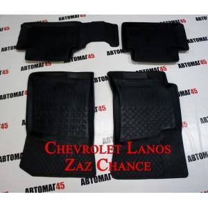 Ковры Chevrolet Lanos ZAZ Chance комплект 4шт