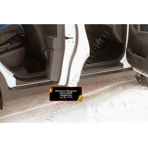 Русская Артель Накладки на внутренние пороги Hyundai Creta с 2016г