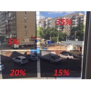 Solarnex тонировочная пленка съемная силиконовая 1,2м x 1м 5%