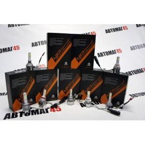 С6 чип СОВ LED 2шт НВ4 9006 12-24В 36W 6000К 3800Lm гарантия 1мес