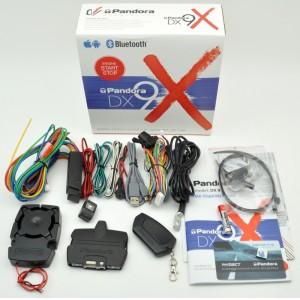 Pandora DX 9X 2Can+2Lin сигнализация 2 брелка автозапуск двусторонняя связь сирена Bleutooth управление гарантия 3 год